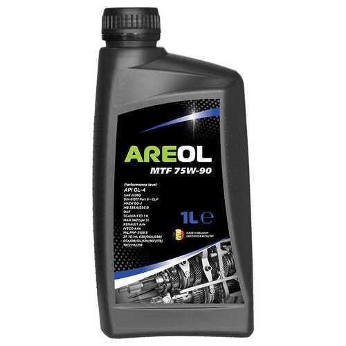 Минеральное трансмиссионное масло Areol MTF 75W-90 1л