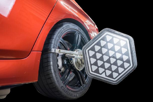 Регулировка углов установки колёс передней и задней оси - 55 руб