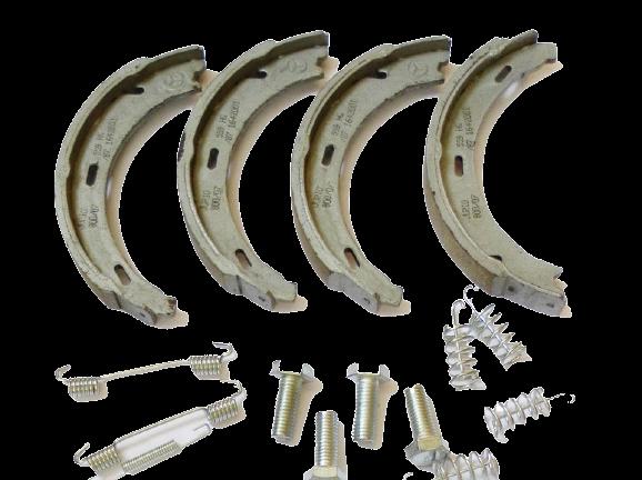 Замена барабанных тормозных колодок - 65 руб