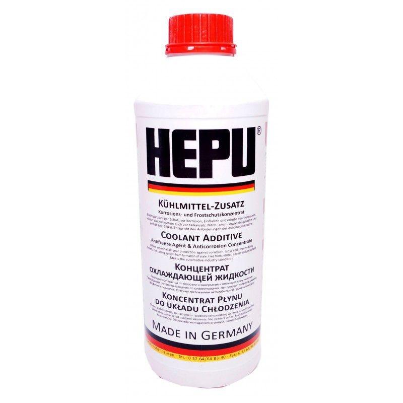 Антифриз-концентрат HEPU красный, 1.5л