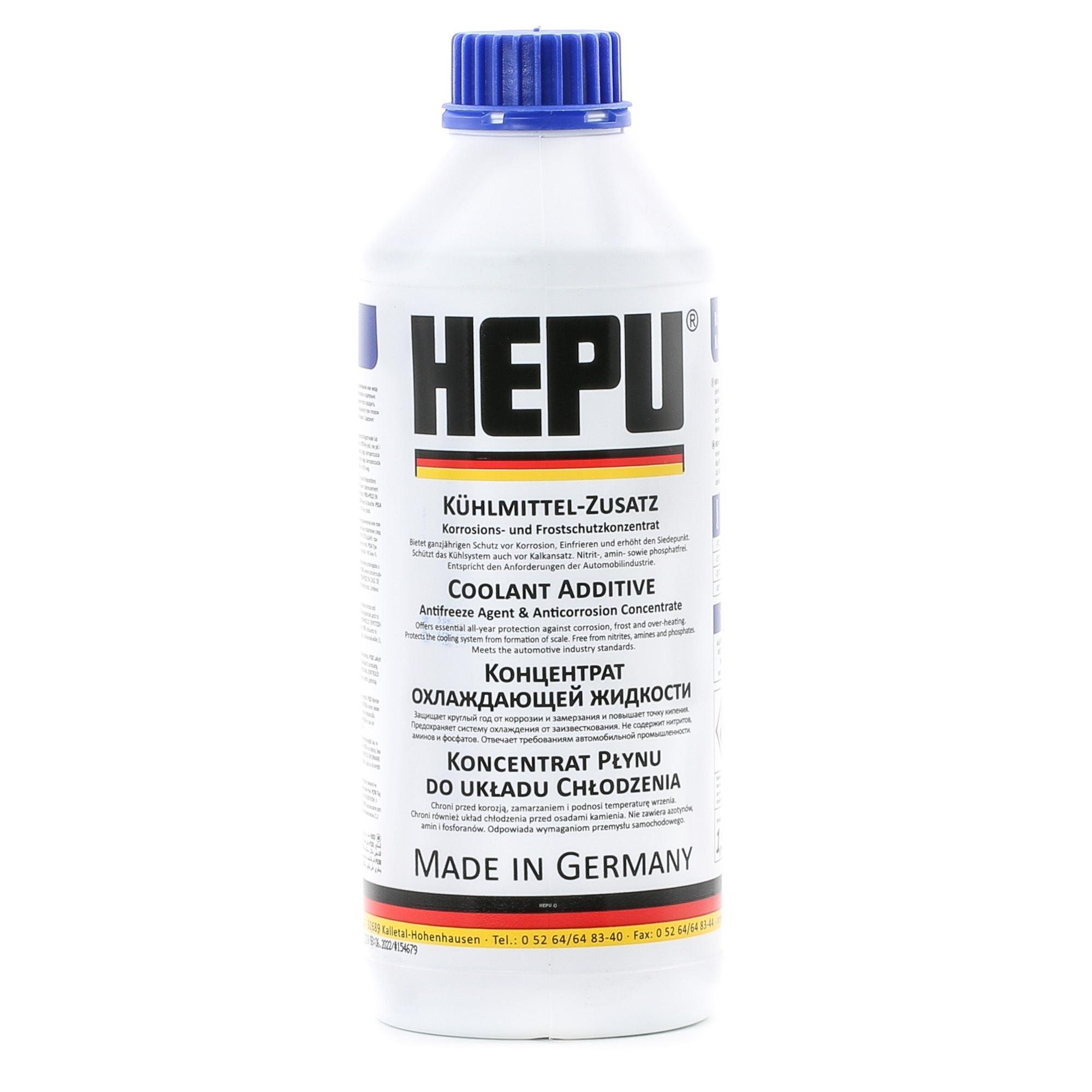 Антифриз-концентрат синий HEPU 1.5л