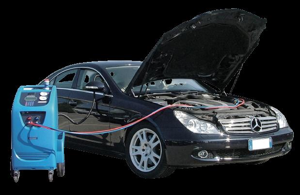 Обслуживание и заправка систем кондиционирования